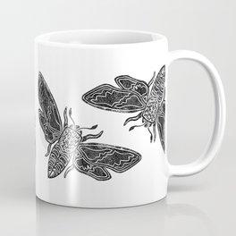 Moon Moth - Midnight flight Coffee Mug