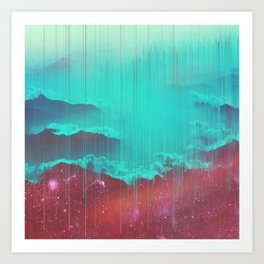 Suboneiric space Art Print