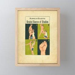 Graded Course of Studies Framed Mini Art Print