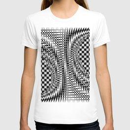 black white 09 T-shirt