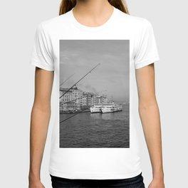 Bosphorus view from Galata Bridge T-shirt