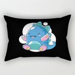 Little Baby Dragon Rectangular Pillow
