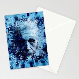 Albert Einstein 2 Stationery Cards