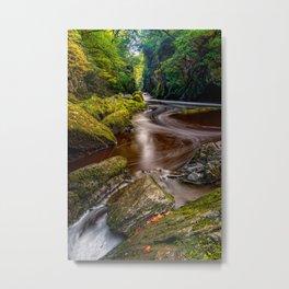 Fairy Glen Gorge Metal Print