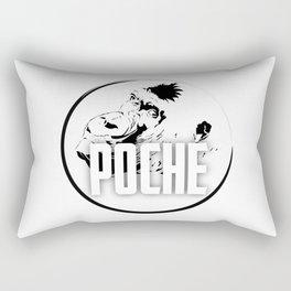 Poché Logo Rectangular Pillow