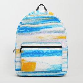 soft sea breeze Backpack
