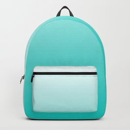 Turquoise Gradient Backpack