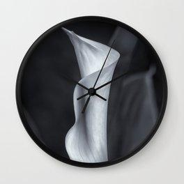 Calla Lily No. 2 - BW Wall Clock