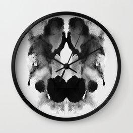 Form Ink Blot No. 22 Wall Clock