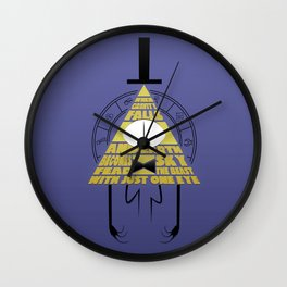 The beast with just one eye Wall Clock