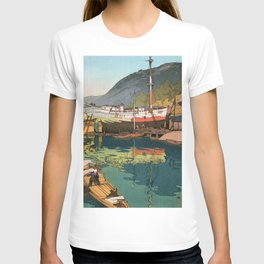 Yoshida Hiroshi - The Inland Sea Series, Second Series - Kinoe - Digital Remastered Edition T-shirt