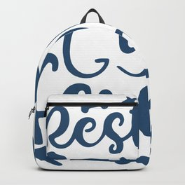 Resting Gym Facee Backpack