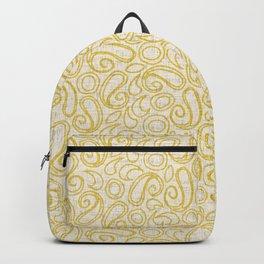 ziya cream yellow Backpack