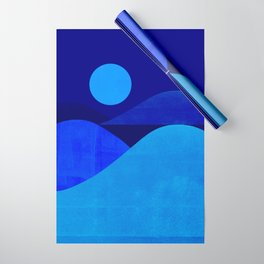 Abstraction_Moonlight Wrapping Paper