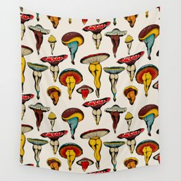 Sexy mushrooms Wall Tapestry