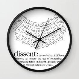 Dissent  Wall Clock