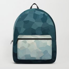 Ice Blue Mountains Moon Love Backpack