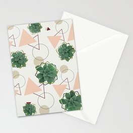 Lovely Succulents Stationery Cards