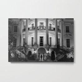 President Obama Entering The White House - 2012 Metal Print