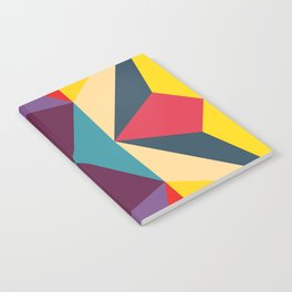 abstract geometric design for your creativity    Notebook