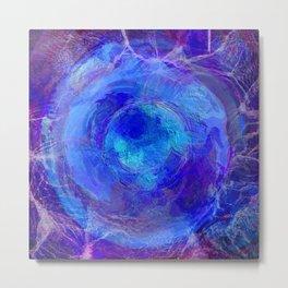 Abstract Sphere 509 Metal Print