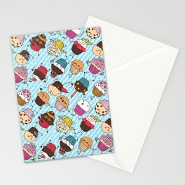 Cupcake Parade Stationery Cards