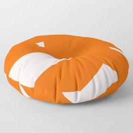 Abstract Form 6A Floor Pillow