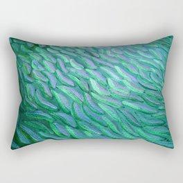 PECES AZULES BRILLANTES Rectangular Pillow