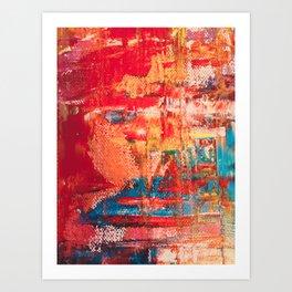 Summer Red Art Print