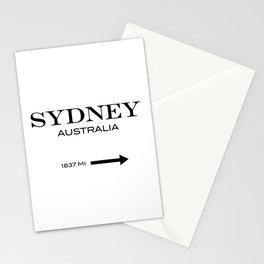 Sydney - Australia Stationery Cards