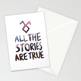 All The Stories Are True Stationery Cards