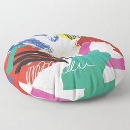 Moden Art- absrc no2 Floor Pillow