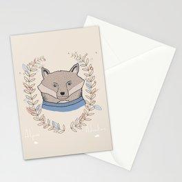 Alpine Adventure - Nigel the Fox Stationery Cards
