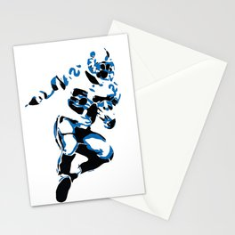 Emmitt Smith Running for A Touchdown Stationery Cards