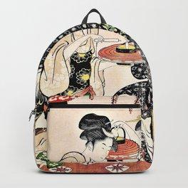 Kitagawa Utamaro - Top Quality Art - Carry Lantern Backpack