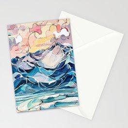 Sunrise, Surf, and Ridgelines Stationery Cards