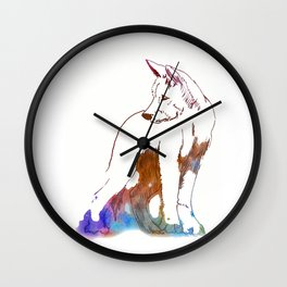Dingo puppy - Ria Loader Wall Clock