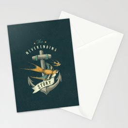Anchor | Petrol Grey Stationery Cards