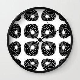 Sweet curves Wall Clock
