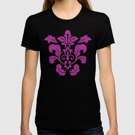 Fuchsia Damask T-shirt