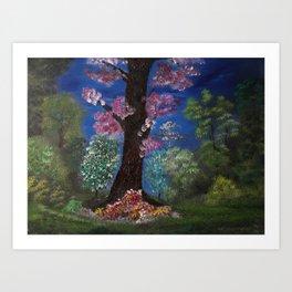 Queen of the Forest II Art Print