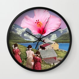Bloom of Youth Wall Clock