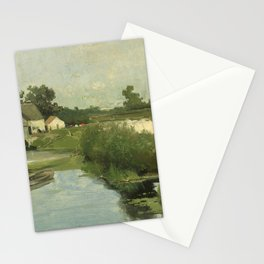 Summer Day By Johan Hendrik Weissenbruch | Reproduction Stationery Cards