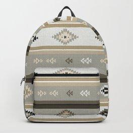 Neutral Kilim Backpack