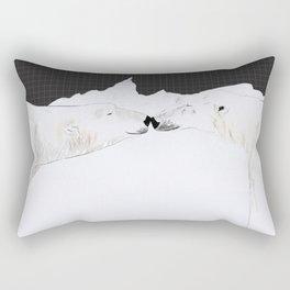 Polar bear lovers Rectangular Pillow