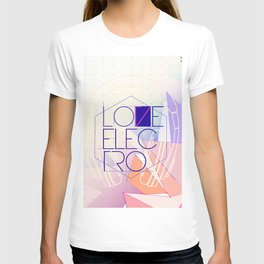 LOVE JOCKEY ELECTRO T-shirt