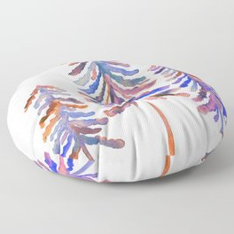Pine Trees – 90s Color Palette Floor Pillow