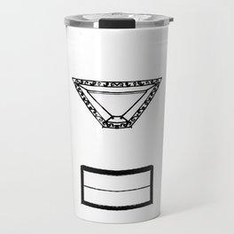 Smiley Facade Travel Mug