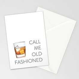 Call Me Old Fashioned Stationery Cards