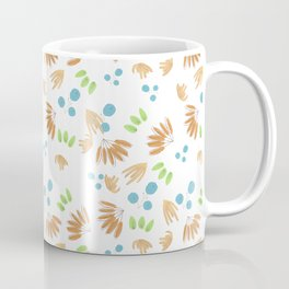 abstract minimal fall flora Coffee Mug
